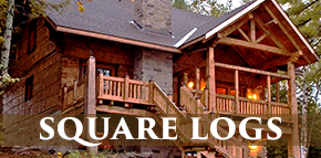Norwegian Dovetail Square Log Home Styles