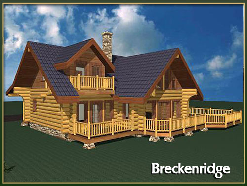 Davidson Log Homes 2000 To 3500 Square Feet