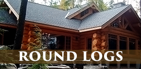 Scandinavian Scribe Style handcrafted log home