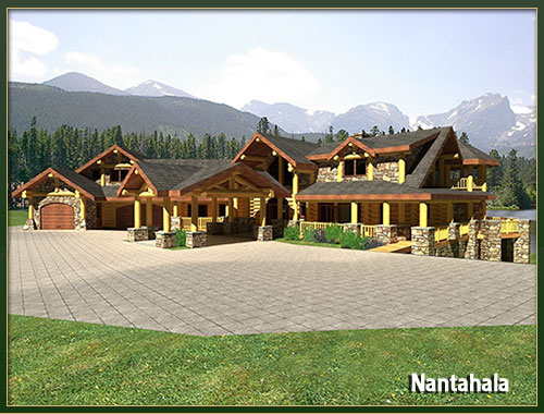 5000 Sq Ft House Floor Plans: Davidson Log Homes :: 3500 To 5000 Square Feet