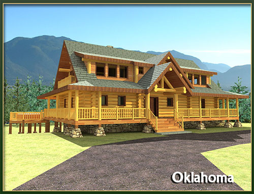Davidson log homes 2000 to 3500 square feet for 2000 sq ft log cabin cost