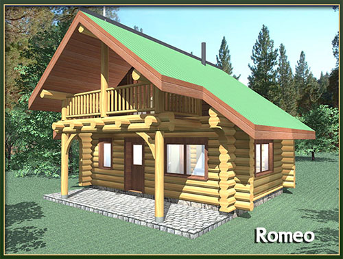 Davidson log homes 500 square feet for Cost to build 1500 sq ft cabin