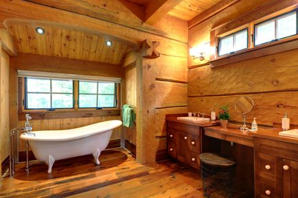 Handcrafted Square Log Homes | Norwegian Dovetail Design by Davidson