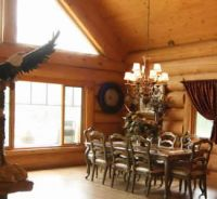Custom log homes in Ontario