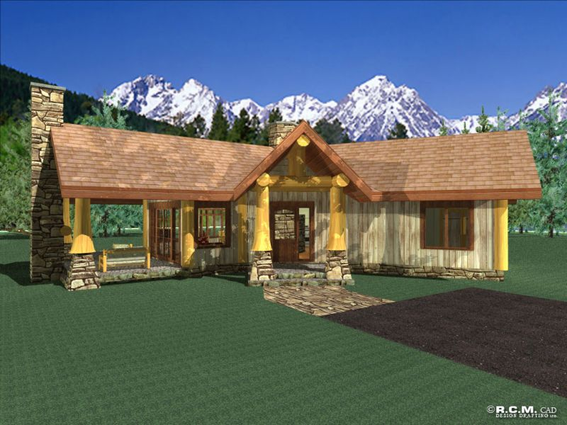 Davidson Log Homes Snowflake