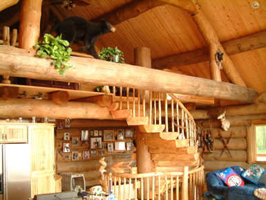 Handcrafted Round Log Home Designs Scandinavian Scribe